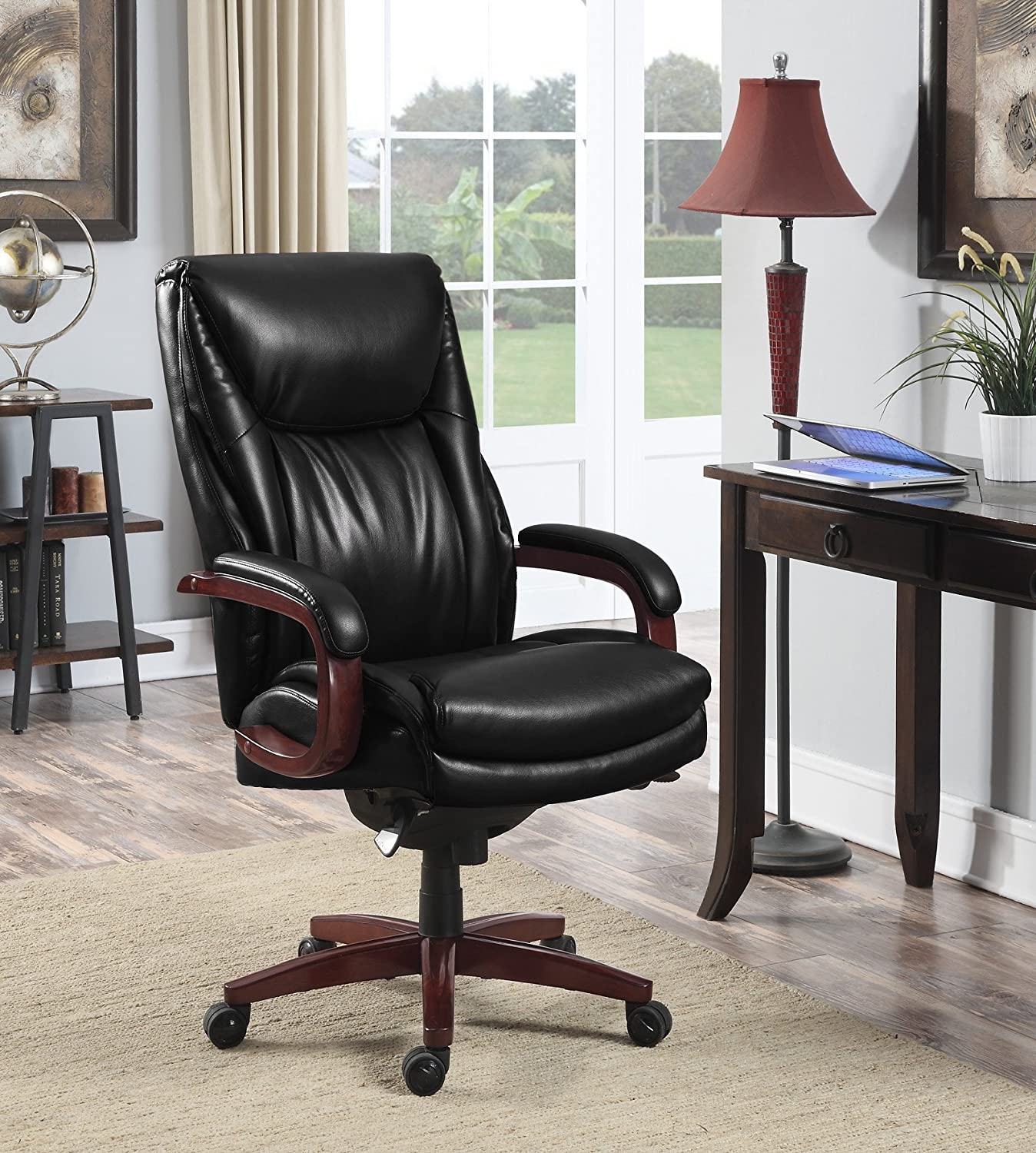 LaZBoy La-Z-Boy Edmonton Chair Big/Tall Executive Office, Black