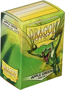 Dragon Shield Sleeves Matte Apple Card Game, Green - AT-11018