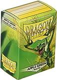 Arcane Tinman AT-11018 Dragon Shield Sleeves Matte Apple Card Game, Green