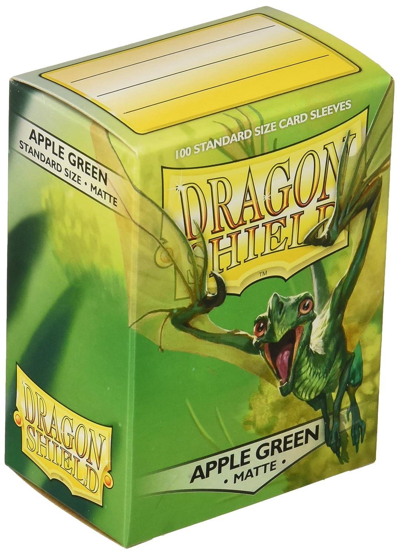 Arcane Tinman AT-11018 Dragon Shield Sleeves Matte Apple Card Game Green