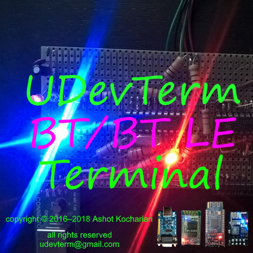 Interactive BT Color Terminal