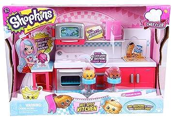 Amazon.com: Shopkins Chef Club Hot Spot Kitchen Playset: Toys & Games