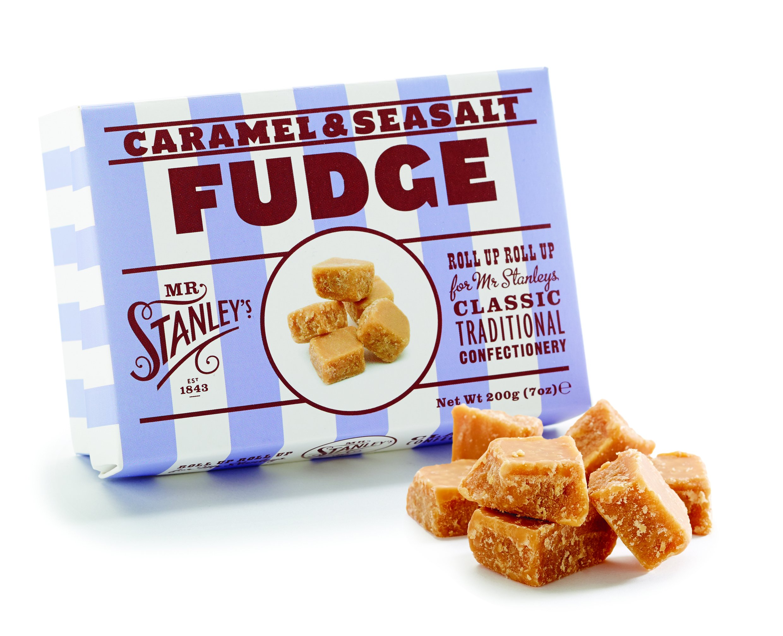 Mr Stanley's Caramel & Sea Salt Fudge 200g by Mr Stanley's