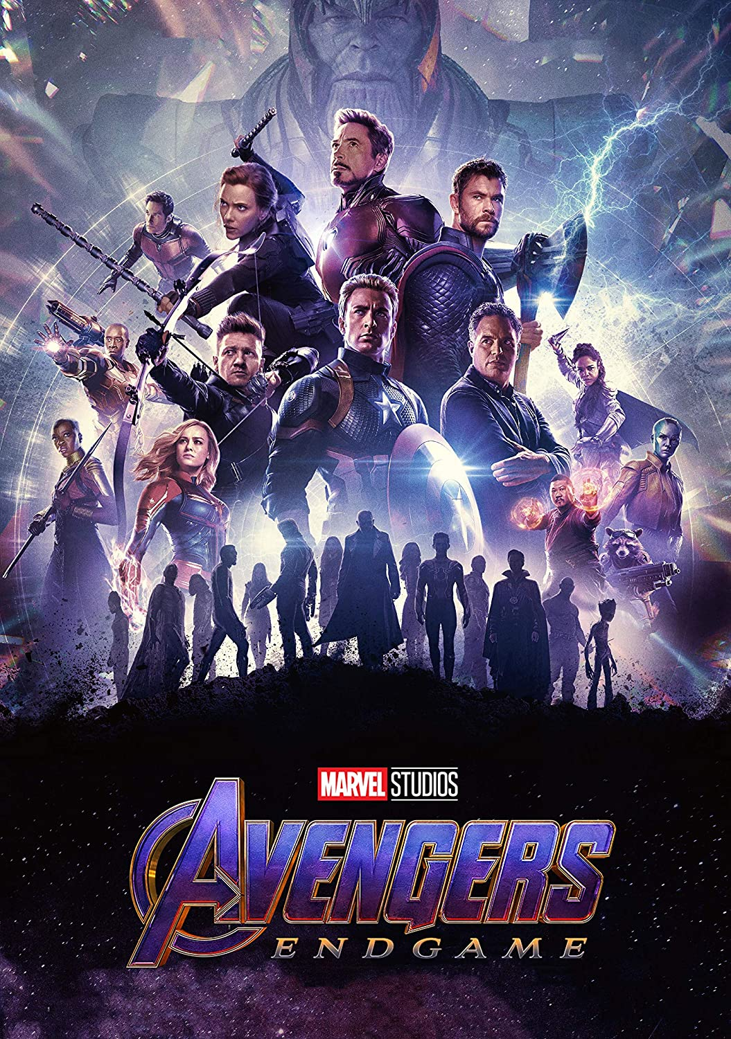 Avengers Endgame Poster - International Art - 2019 Marvel Movie (16x25) inch Poster Print Limited Edition Print frameless art gift 40 x 63 cm