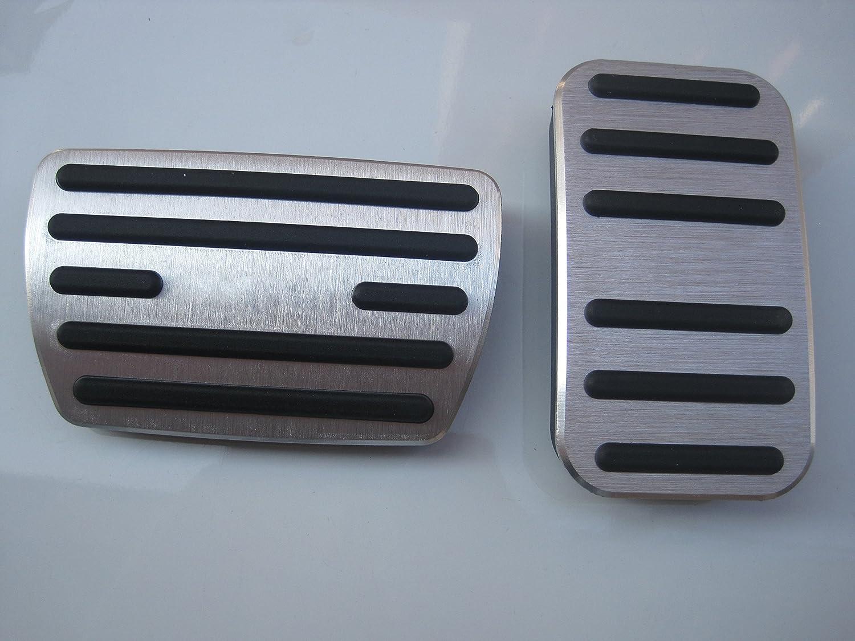 Für Golf 6 7 Auto Bremse Gaspedal Pedalabdeckung Pedalkappe Pedalset Aluminiumlegierung Ppe Gleitschutz At Zwei Auto