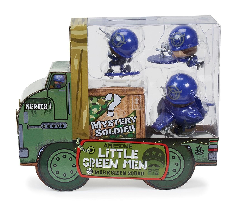 Awesome Little Green Men 4 Starter Pack Series 1 Marksmen Squad Figures MGA Entertainment 547945