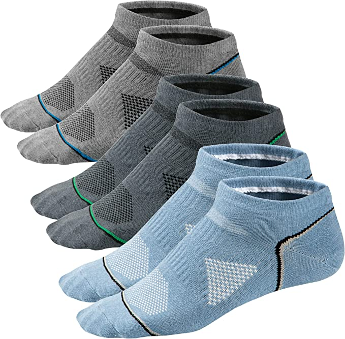 Ueither Low Cut Calcetines de Algodón para Hombre y Mujer ...