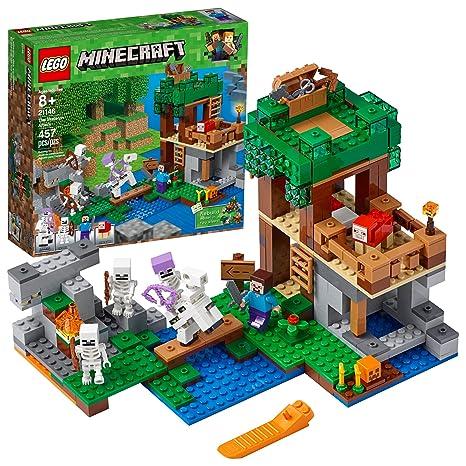 Lego Minecraft The Skeleton  Building Kit  Piece