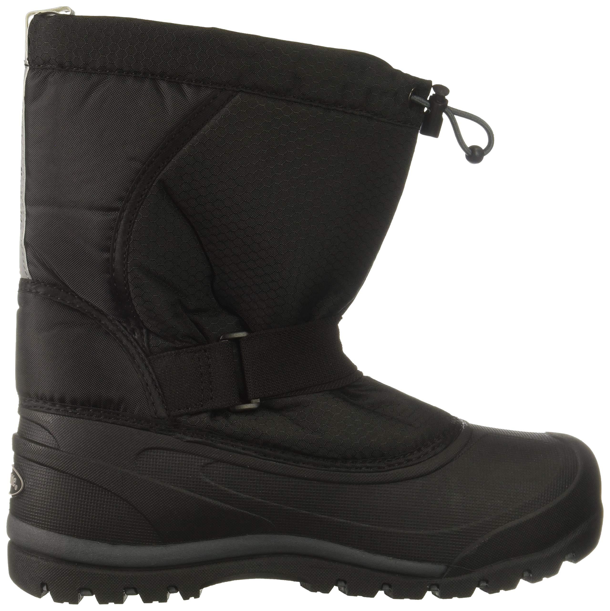 Northside Zephyr Snow Boot, Onyx, 6 Medium US Big Kid by Northside (Image #6)