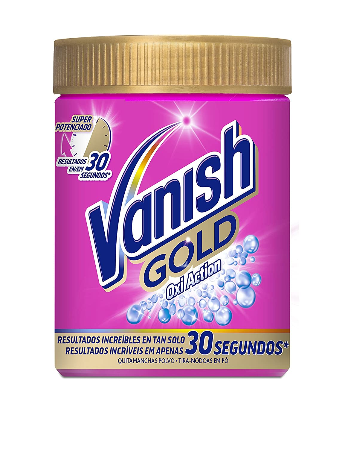 Vanish Quitamanchas para Ropa Gold Oxi Action Polvo - 940 gr