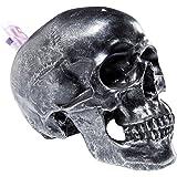 Kare 35872 Spardose Skull Antique, silver