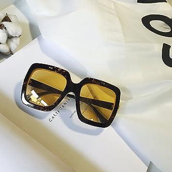 VVIIYJ Large Frame Clamshell Gafas de Sol Transparentes de ...