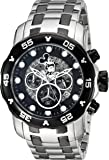 Invicta Men's 'Disney Limited Edition' Quartz Stainless Steel Casual Watch, Color:Silver-Toned (Model: 23767)