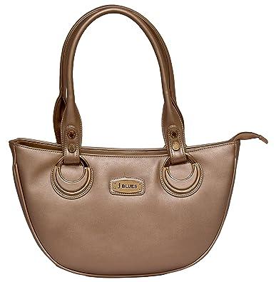 a06be6789484 J BLUES Women s Handbag (Gold)  Amazon.in  Shoes   Handbags