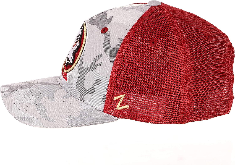 Zephyr NCAA Mens Battalion Tonal Camo Trucker Hat