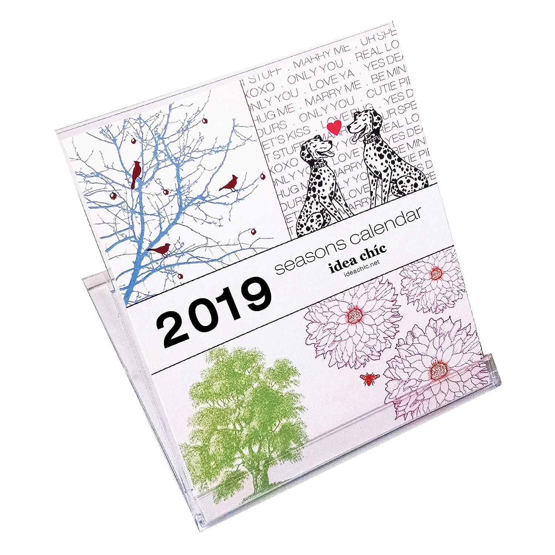 2019 Seasons Calendar