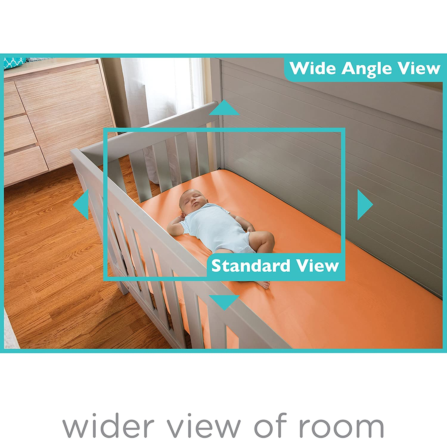 Amazon Summer Infant WIDE VIEW 2 0 Digital Color Video Baby