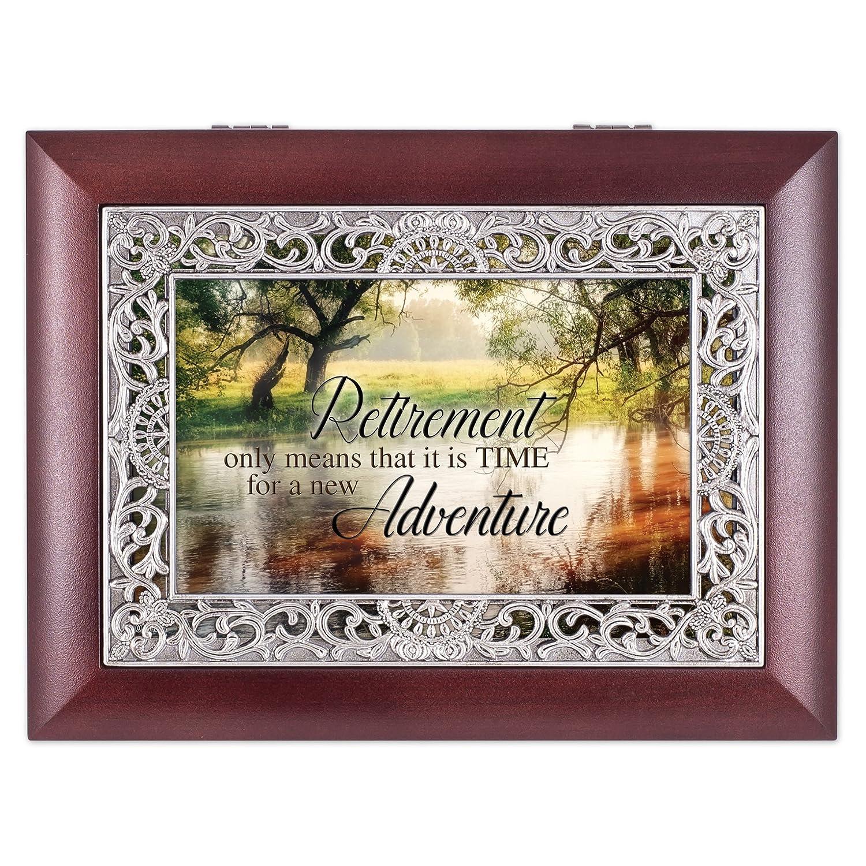 ファッションの Retirement Wooded池シーンOrnateローズウッドジュエリー音楽ボックスPlays B01GGKLLH8 Wonderful Wonderful World Retirement B01GGKLLH8, 鳥取市:749ee33c --- arcego.dominiotemporario.com