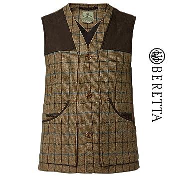 "1d515fc3962da Beretta St. James Vest Brown Fancy Hunting Shooting Gilet Tweed Country Wear  (UK 40"""