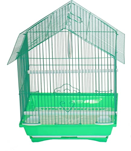 YML Green House Top Style Parakeet Cage