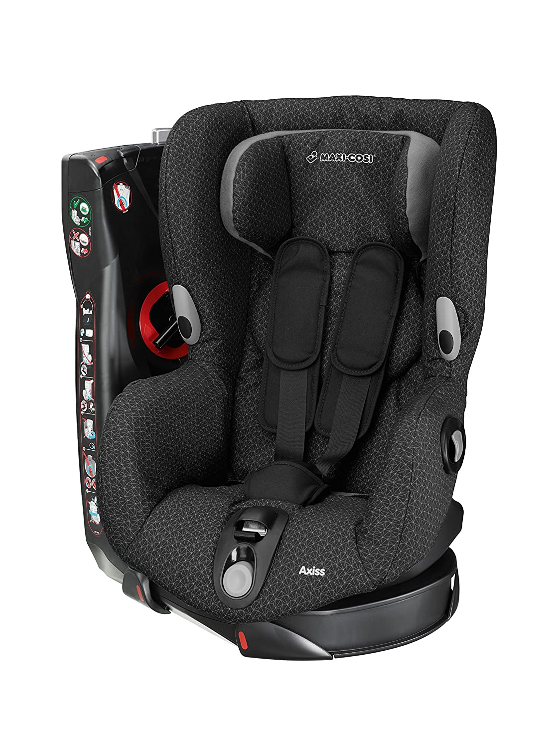 Maxi-Cosi Axiss Toddler Car Seat Group 1 Swivel Car Seat, 9 Months-4 Years, Vivid Red, 9-18 kg Dorel UK Limited 8608721110