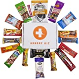 HANGRY KIT - ADVENTURE KIT - PERFECT GIFT PACK - GREAT FOR BIKING, HIKING, CAMPING, SPORTS, MOTORCYCLE RIDES, COLLEGE KIDS - VARIETY OF MEAT, NUTS, PROTEIN AND SNACKS!!!