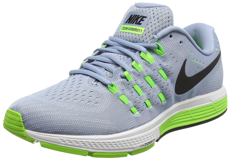 Nike Men's Air Zoom Vomero 11 Running Shoes B01HI7BC6I 6 D(M) US|Blue (Blue Grey/Blk/Pr Pltnm/Elctrc Green)
