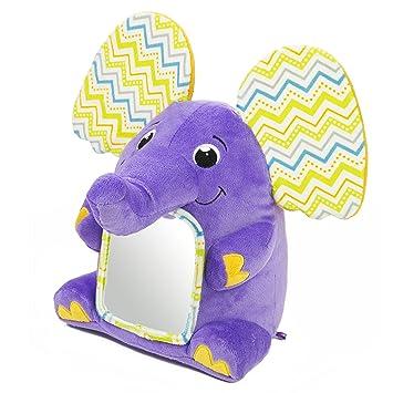 Amazon.com: Kiddopotamus Peek-A-Boolaphant Plush Floor Mirror Toy: Baby
