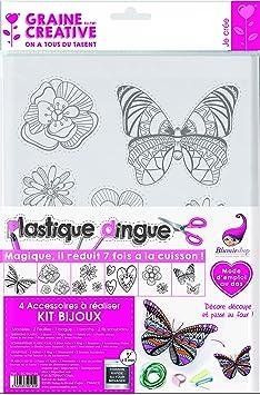 plástico Kit Bijoux blumie Juego de 2fundas de plástico loco plástico Kit transporte blumie