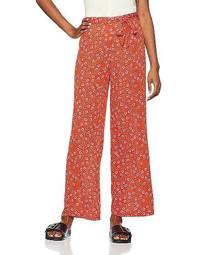 FIND, Pantalones Anchos con Estampado para Mujer