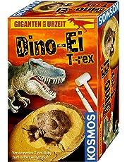 KOSMOS Experimente & Forschung 651077 Dino-Ei T-Rex, Rot