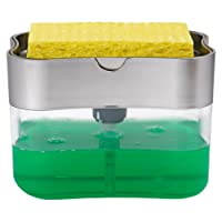 S & T 592401dispensador de jabón y Soporte para Esponja