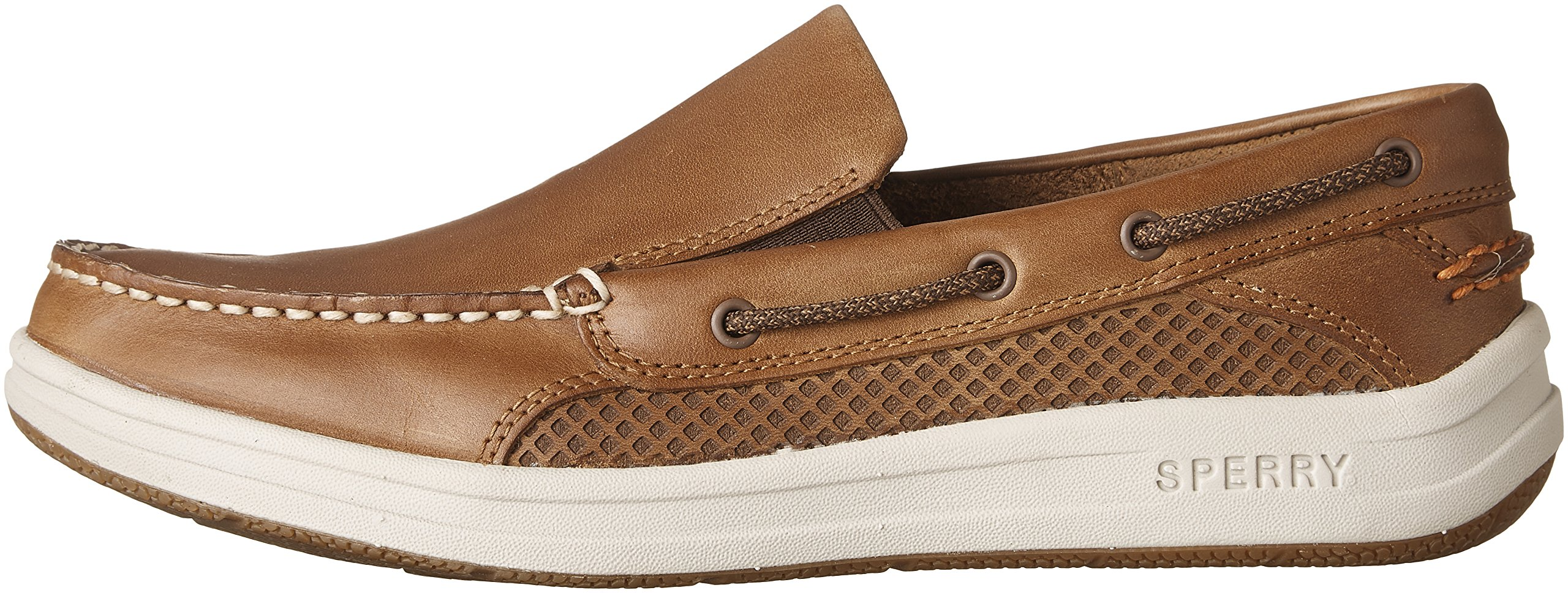Sperry Top-Sider Men's Gamefish Slip On Boat Shoe, Dark Tan, 10.5 M US by Sperry Top-Sider (Image #5)
