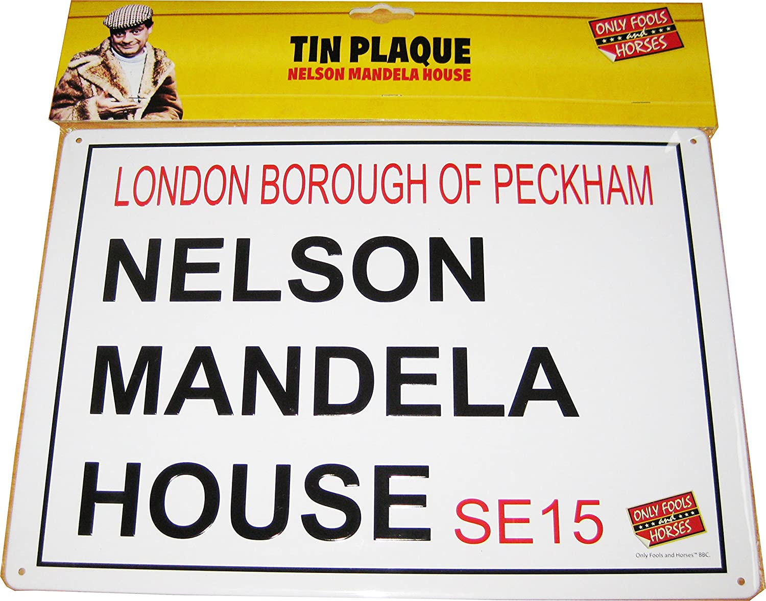 Only Fools and Horses Nelson Mandela House Sign OFFICIAL: Amazon.co ...