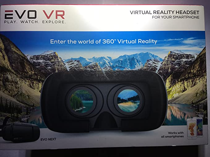 db061ce5a4b3 Image Unavailable. Image not available for. Color  EVO VR - Virtual Reality  Headset ...