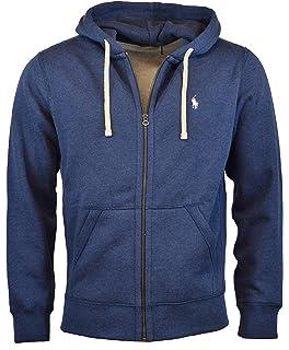 Polo Ralph Lauren Men s Double-Knit Full-Zip Hoodie at Amazon Men s ... 5fedf4047