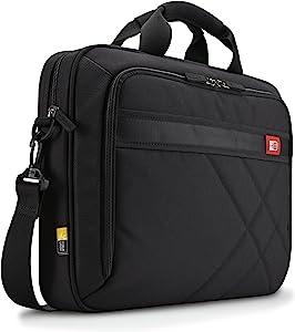 Case Logic 15-Inch Laptop and Tablet Briefcase, Black (DLC-115)