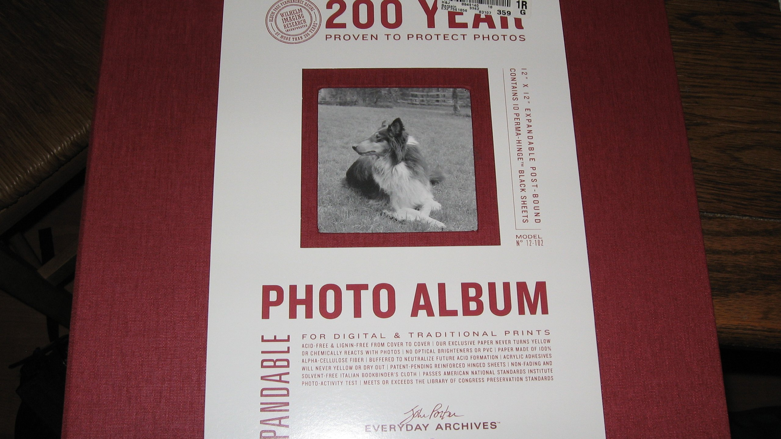 Everyday Archives Expandable Photo Album 200 years