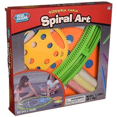 Toysmith Sidewalk Spiral Art: Toys & Games
