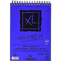 Bloco XL Mix Media 300 g/m² A-4 21,0 x 29,7 cm com 30 Folhas Canson