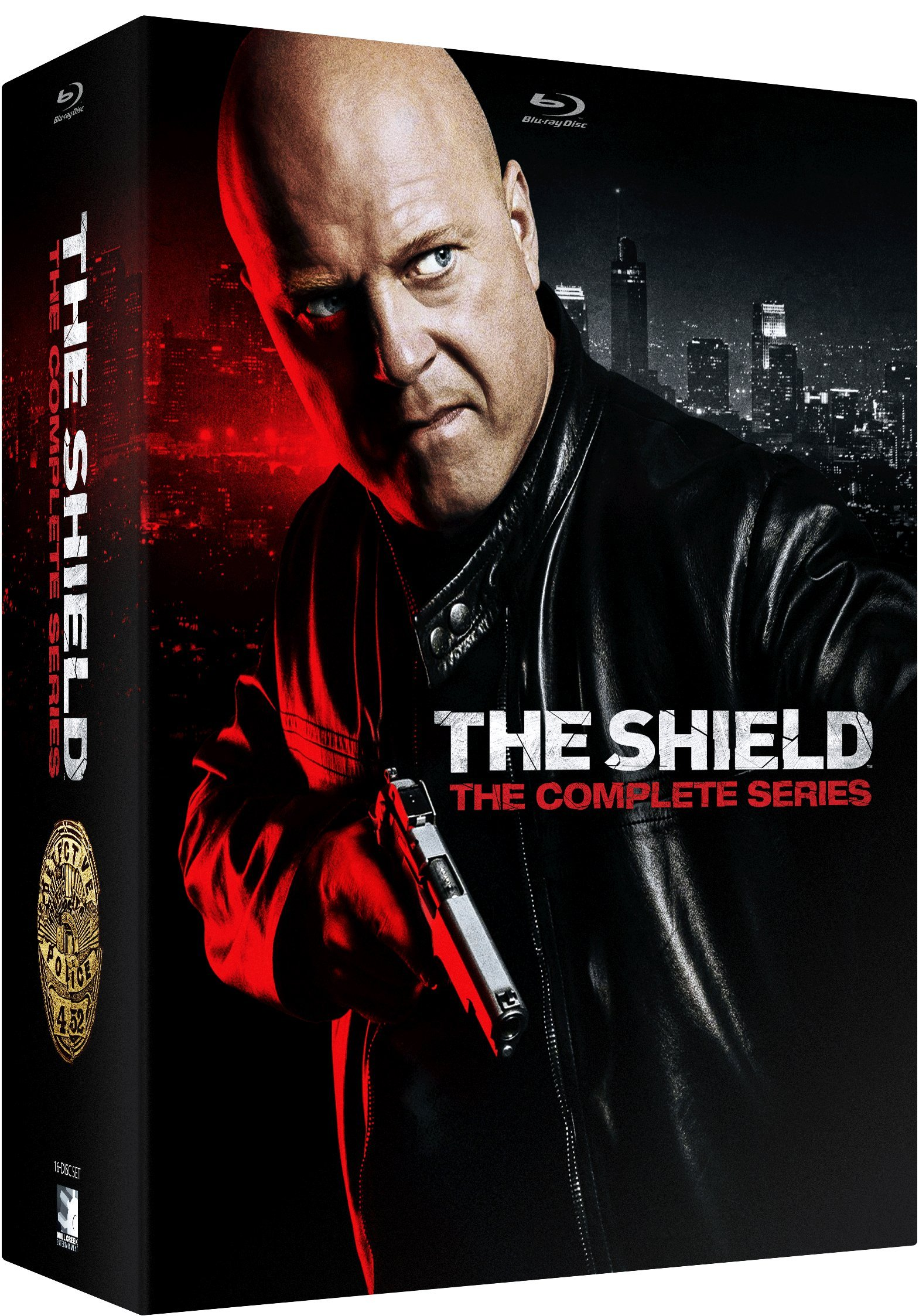 Blu-ray : The Shield: The Complete Series (Blu-ray)