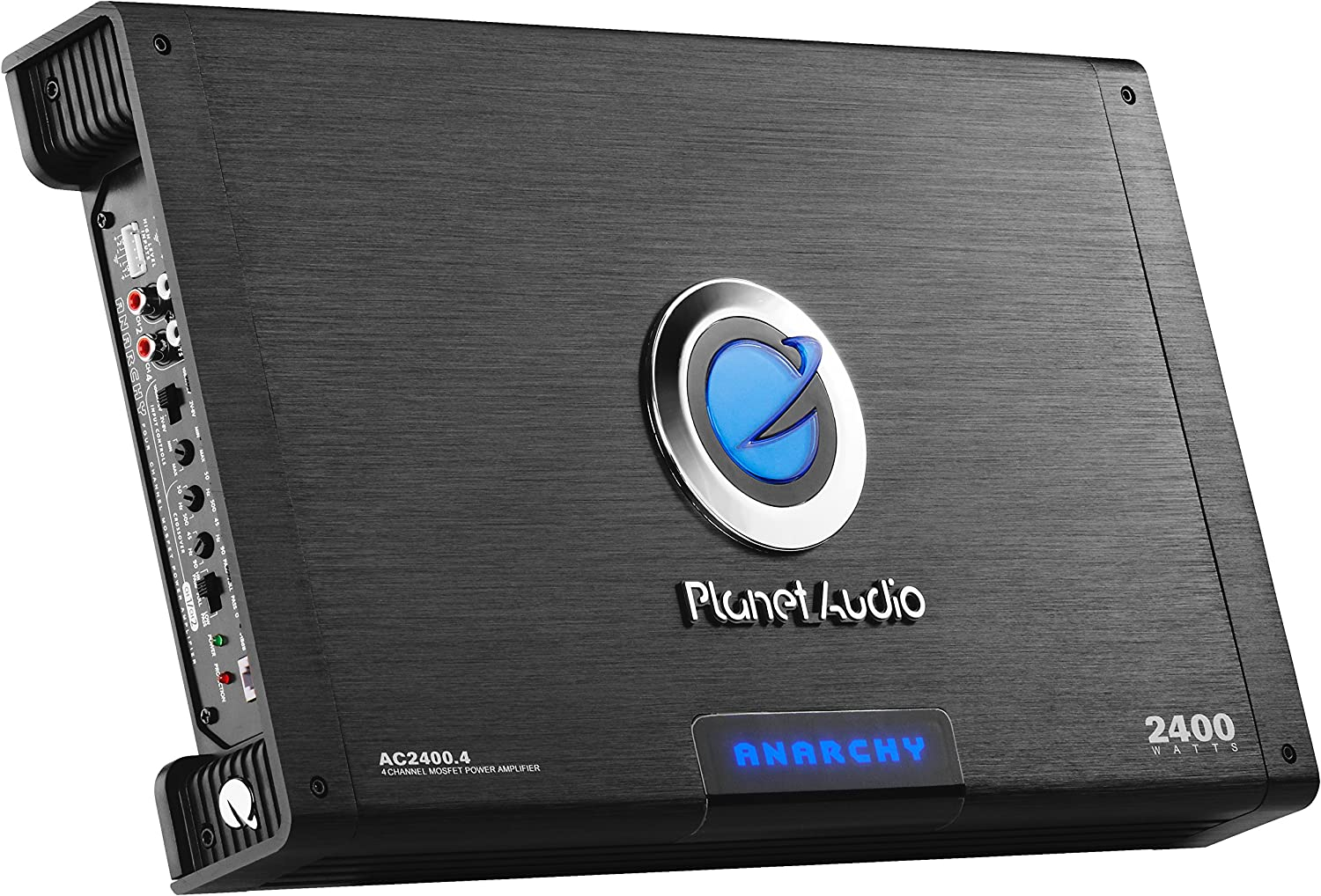Class A//B 2400 Watts Mosfet Power Supply Full Range 2-4 Ohm Stable Planet Audio AC2400.4 4 Channel Car Amplifier Bridgeable