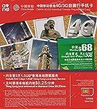 【中国移動香港】 4G LTE/3G 香港5日間有効 1.5GBデータ通信 & 90日間有効音声通話 旅行者向け プリペイドSIMカード [並行輸入品]