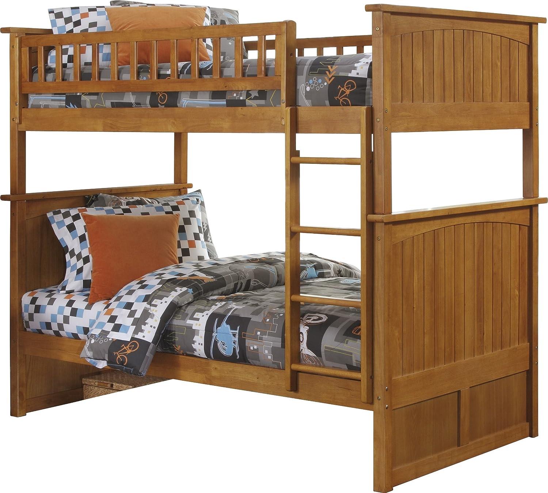 Nantucket Bedroom Furniture Amazoncom Nantucket Bunk Bed Twin Over Twin White Kitchen