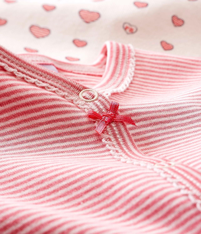 Petit Bateau Lot Db Fil Camiseta de Pijama, Multicolor ...