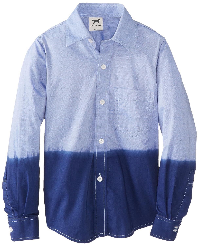 Jack Thomas Little Boys Dip Dyed Derss Shirt Toddler