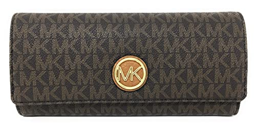Amazon.com: Michael Kors Fulton Flap Continental, talla ...