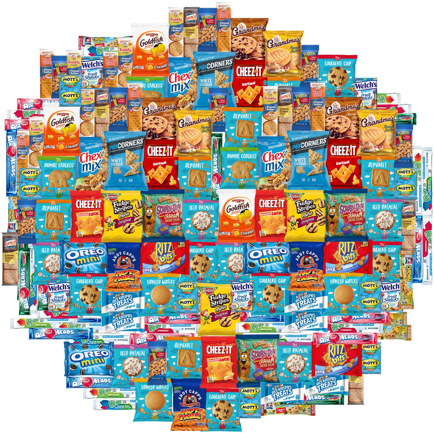 Snacks Care Package Mix Variety Pack of Chips, Cookies, Candy, Care Package to Friends and Family (150 Count) by Snacks Generation (Image #1)