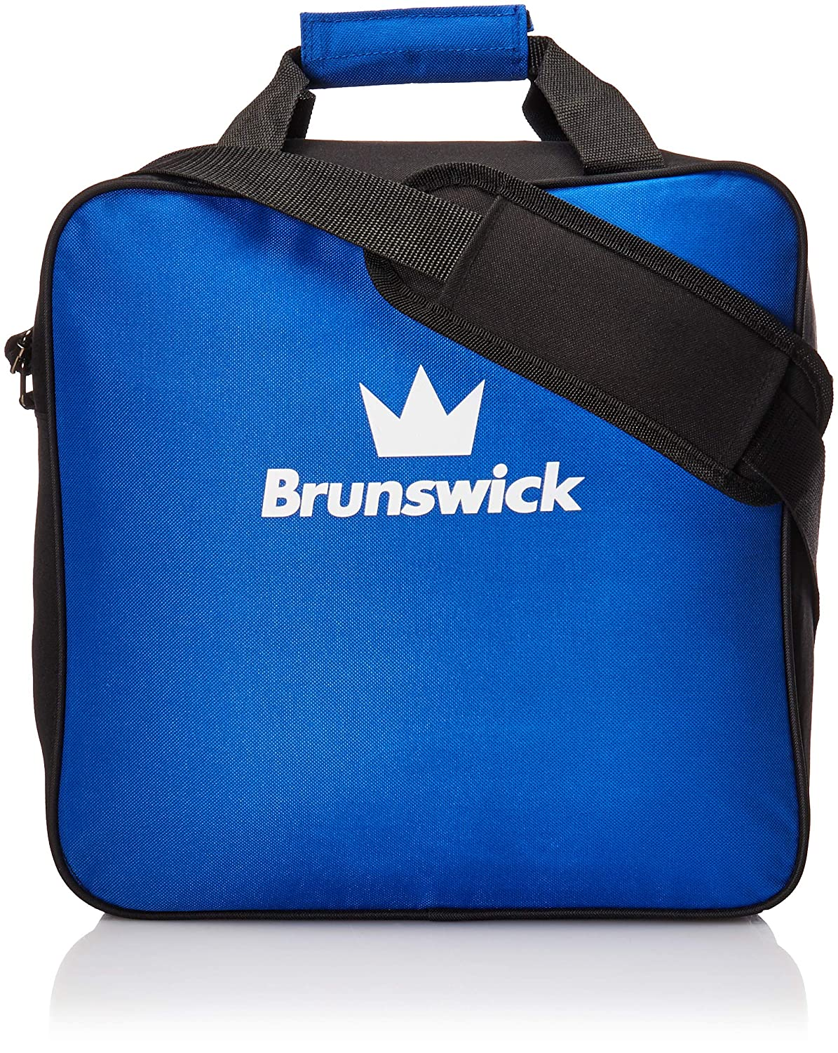 New Brunswick Bowling >> Amazon Com Brunswick Tzone Single Tote Bowling Bag Blue