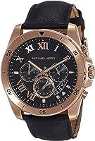 Michael Kors Brecken Black Dial Mens Chronograph Watch MK8544